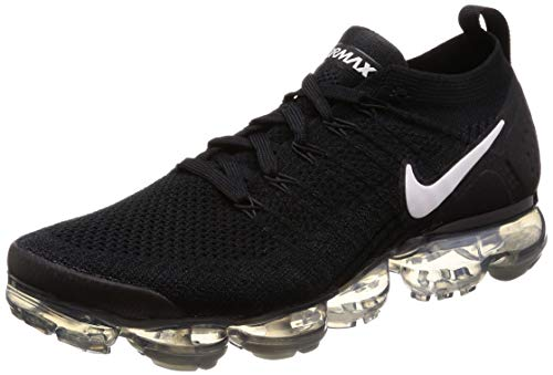 detailed look 46f20 be2dc Nike Air Vapormax Flyknit 2, Chaussures de Fitness Homme, Multicolore  (Black White