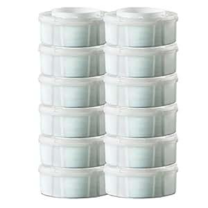 Sangenic Boite de recharges pour poubelle à couches MK3, MK4, MK5, Lot de 12