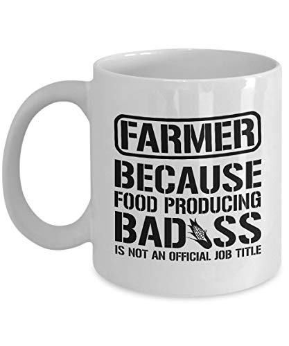 Ahaltao Lustige Kaffeetasse für Landwirte, Farmer Mug, Farmer, Farmer Geschenk, Landwirtschaft Mug, Geschenk für Landwirt, lustige Farmer Mug, Landwirtschaft Kaffeetasse, Becher