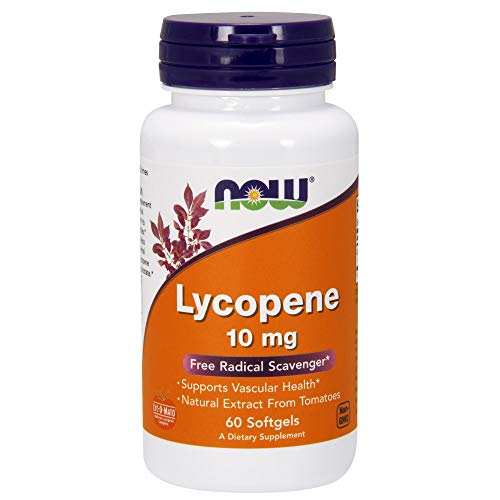 Now Foods Lycopene 10mg Standard - 60 Cápsulas
