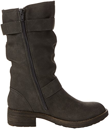 Rocket Dog  Trumble, Bottes Motardes femme Gris (anthracite)