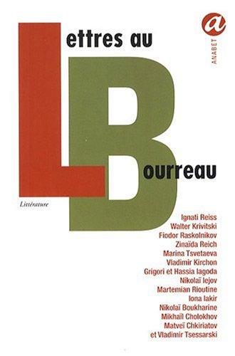 Lettres au bourreau par Collectif - Traduit du russe par Luba Jurgenson
