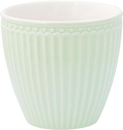 GreenGate - Kaffeetasse - Latte Cup - Becher - Alice - Pale Green - Porzellan Green Latte Becher