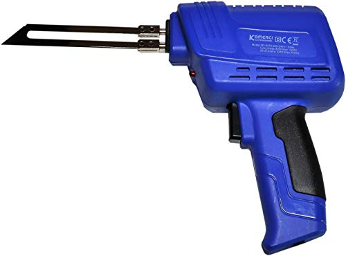 Heißschneide-Werkzeug Komerci ZD-507E Styroporschneider Messer Schnellheizfunktion blau