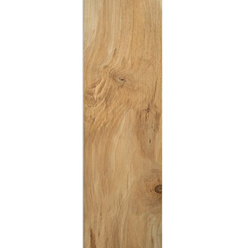 Holzoptik Holzstrutur Bodenfliesen Carmenta Beige 20x120cm