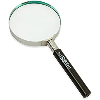 Magnifying Glass Hand Held Classic Magnifier Large