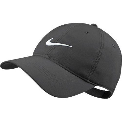 Nike Herren Kappe Tech Swoosh Valor Blue/White Gr. One Size, Grau - Gris - Dark Grey/White (Tech Herren Flat Nike)