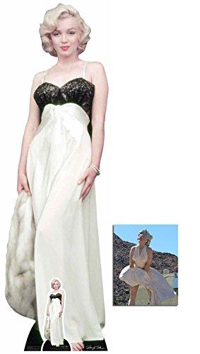 es Kleid und Pelz Lebensgrosse und klein Pappaufsteller - mit 25cm x 20cm foto ()