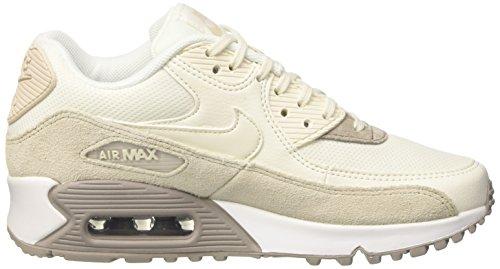 Ginnastica bianco Nike 90 Vela Da Air Scarpe Beige Wmn acciottolato marrone Max Femminile Chiaro Orewood gq0pCqZw