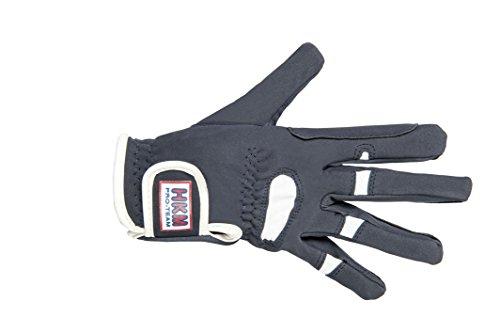 HKM Damen Reithandschuh-Madeira Handschuh, dunkelblau, XXL