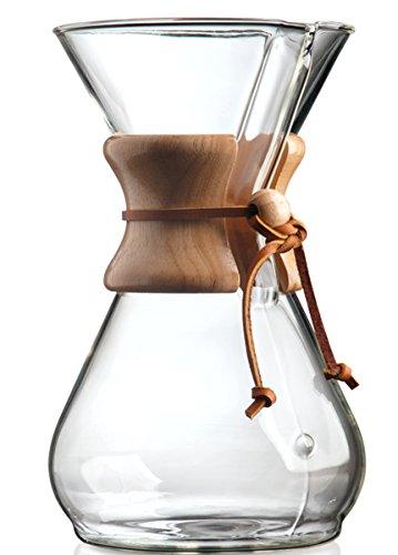 Chemex Classic CM-8A - cafeteras (Transparente, Vidrio)