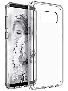 Karirap™ Transperant ultra thin durable crystal clear back cover case for Samsung Galaxy S8 Plus