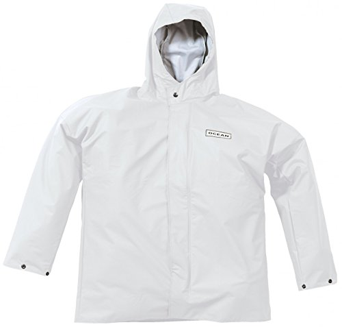 Ocean Veste de pluie Comfort Heavy, Couleur:blanc, Taille:L