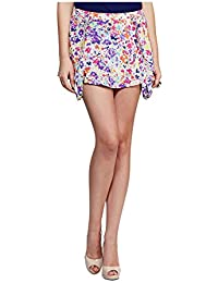 Yepme Women's Poly Cotton Skirts - YPMSKRT5078-$P
