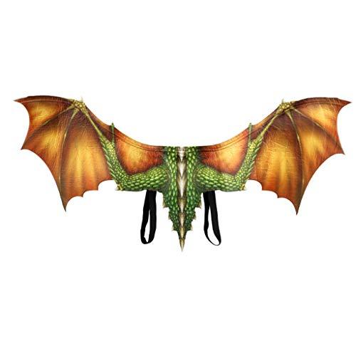 Toasye Halloween Cosplay Dinosaurier Flügel Halloween drachenflügel kostüm Dinosaurier-flügel Cosplay-flügel drachenkostüm tierflügel zubehör Fantasie Halloween drachenflügel