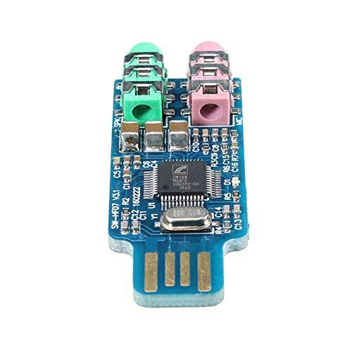 Ferrell CM108 USB Stick Soundkarte Laptop Computer Externe Soundkarte Modul