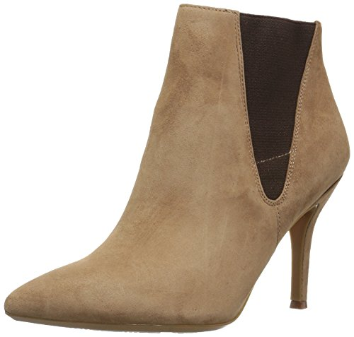 Nine West FRONT9X9 25027090-R03, Chelsea Boots, Braun (Wheat/Cocoa Wheat/Cocoa), 38 EU (US:8M) (Boot Toe Pointy)