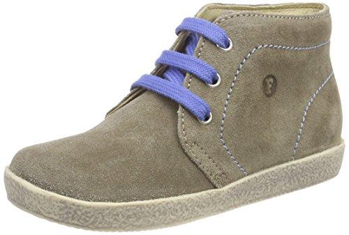 falcotto lauflernschuhe Falcotto Baby Jungen 1195 Sneaker, Braun (Tortora-Jeans), 25 EU