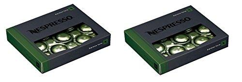 50 Nespresso Espresso Forte Coffee Cartridges Pro NEW 2 boxes - 100 capsules