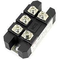 sourcingmap® 60A 1600V passivo diodo modulo 3 fase ponte rettificatore MDS-60A