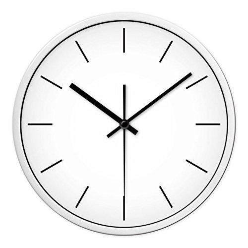 Personnalisé mode d'horloge murale salon chambre à coucher créative quartz montres moderne minimaliste muet avec grande horloge (Couleur : # 3, taille : 35cm)