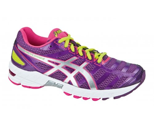 Asics Damen Performance Gel-Ds Trainer 18 Sneaker Morado / Fucsia / Amarillo