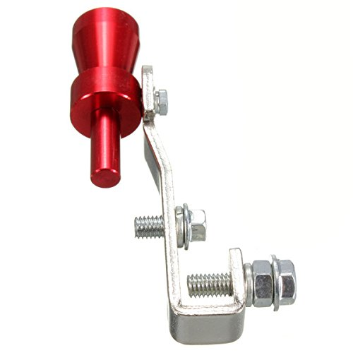 Turbo Sifflement Sound Whistle Tuyau D/échappement Simulateur Valve de Soupape XL Noir