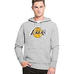 '47 Brand los angeles Lakers Knockaround Hoodie NBA Sudadera, xx-large