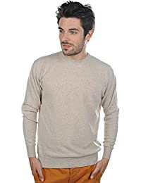 Pull cachemire homme col rond