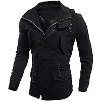 MEIbax Herren Mode Freizeitjacke Mantel Schlank Outwear Mantel Sweatshirtjacke Kapuzenpulli Trainingsjacke