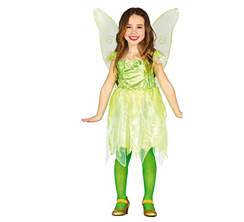 Guirca costume vestito trilly fata del bosco carnevale bambina 8188_ 5-6 anni