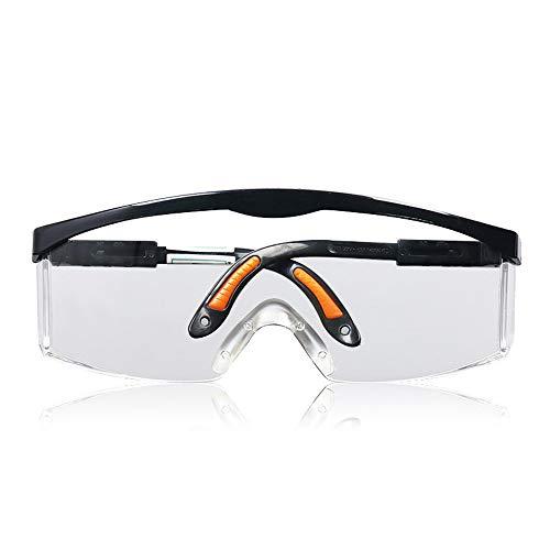 Yiph-Sunglass Sonnenbrillen Mode Schutzbrille mit durchsichtigen, kratzfesten Anti-Fog-Linsen und rutschfesten Griffen
