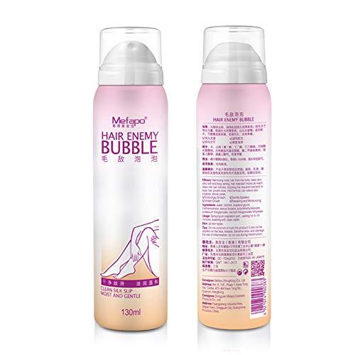 Alftek Enthaarungs Blasen Spray Abwischen Haar Abbau Spray Körper Schönheit 130ML keine Schmerz leichte Enthaarungsmittel -