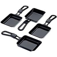 Steba 380005 Universal Raclette-Pfännchen 4er Set