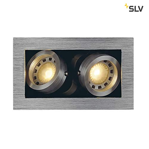 SLV KADUX 2 Leuchte Indoor-Lampe Aluminium/Stahl Silber Lampe innen, Innen-Lampe