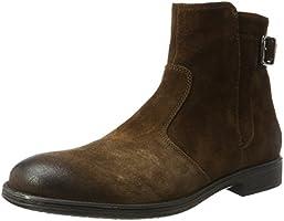 Geox Men's U Jaylon A Classic Boots, Brown (Ebony), 8 UK