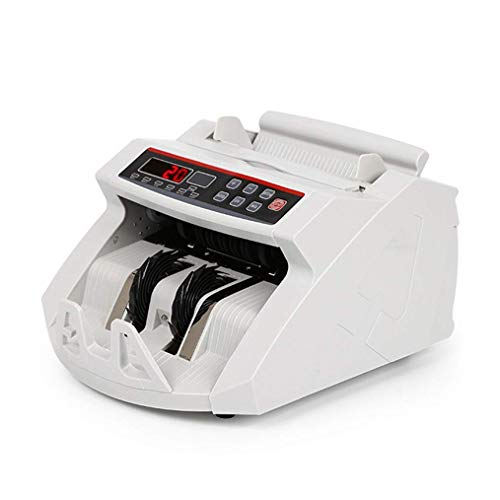 LBSX Il Denaro in Tutto Il Mondo Contatore Bill Che Conta Macchina rilevatore UV/MG Counterfeit w/Monitor Esterno, rilevatori di Falso banconota con UV, rilevazione Magnetica, Raggi infrarossi
