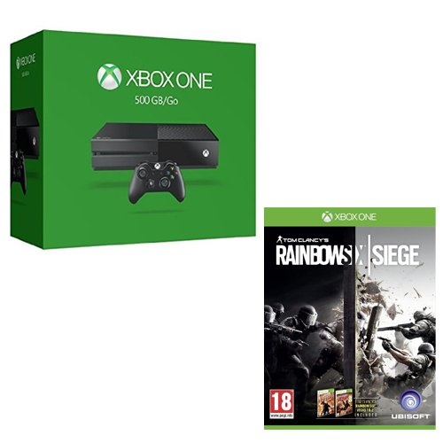 Pack Xbox One 500Go + Rainbow Six : siege