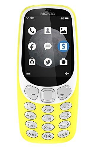 Nokia A00028753 3310 3G Telefono Cellulare, 64 MB, Giallo [Italia]