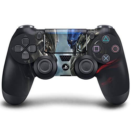 PS4 DualShock Wireless Controller Pro Konsole PlayStation4 Controller mit weichem Griff und exklusiver individueller Version Skin (PS4-Transformers Fall of Cybertron)