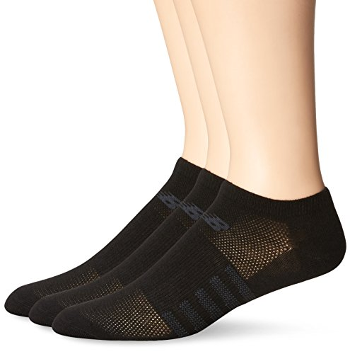 New Balance Damen 3 Pack No Show Socken Lifestyle, herren, schwarz, Medium