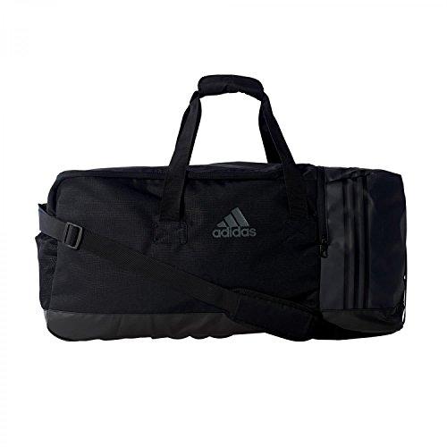 adidas Sporttasche 3-Streifen Team L, Black/Visgre, 70 x 30 x 32 cm, 67 Liter, AJ9990 (Gepolsterte Herren 3-streifen)