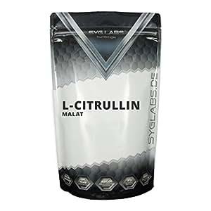 Syglabs Nutrition L-Citrullin Malat, 1er Pack (1 x 500 g)