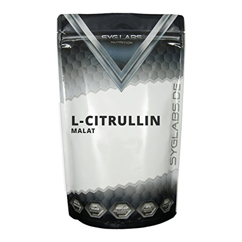 Syglabs Nutrition L-Citrullin Malat, 1er Pack (1 x 500 g)