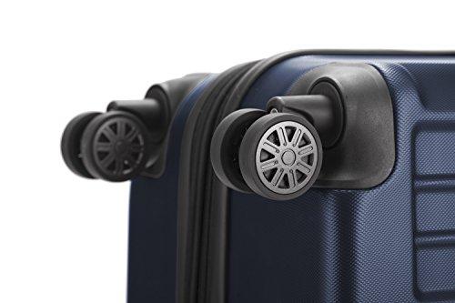 HAUPTSTADTKOFFER - X-Berg - Koffer Trolley Hartschalenkoffer, TSA, 75 cm, 128 Liter, Dunkelblau - 6