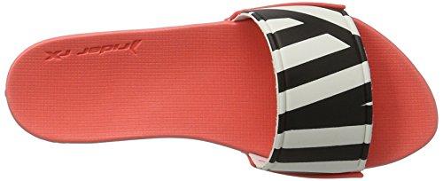 Rider RX Slide Fem, Mules Femme Mehrfarbig (white/black/red)
