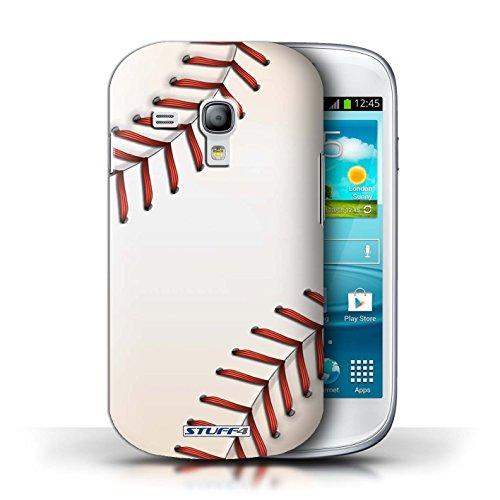 Coque en plastique pour Samsung Galaxy S3 Mini Collection Balle Sportif - Basket-ball Base-ball