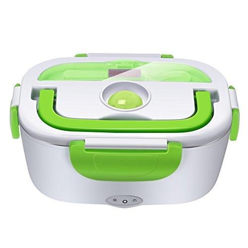 Yissvic Elektrische Lunchbox Speisenwärmer Edelstahl Warmhaltebox Tragbare Food Box für Nahrung(Verpackung MEHRWEG)
