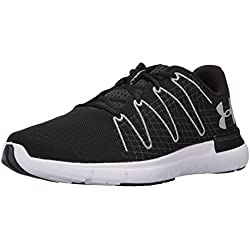 Under Armour Ua Thrill 3 Zapatillas de Running Hombre, Negro (Black 001), 44/45 EU (9.5 UK)