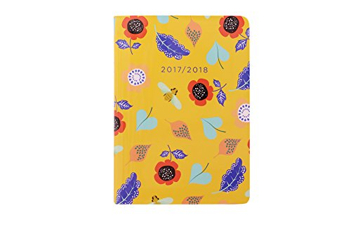 letts-a6-woodlands-floral-day-to-a-page-17-18-academic-diary-yellow